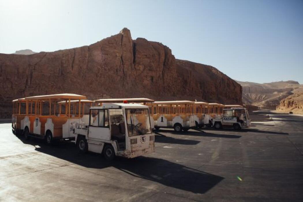 El turismo egipcio cayó desde la llamada segunda revolución del país en...
