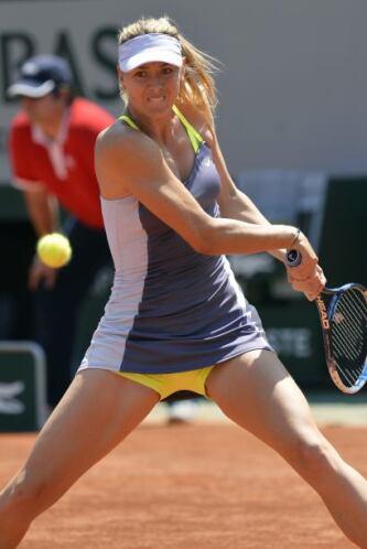 La tenista, dos del mundo, tiene marca de 42-9 en el Abierto de Francia,...