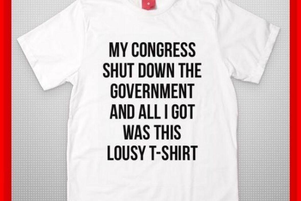 """""""Mi Congreso cerró el gobierno y lo único que conseguí es esta asquerosa..."""