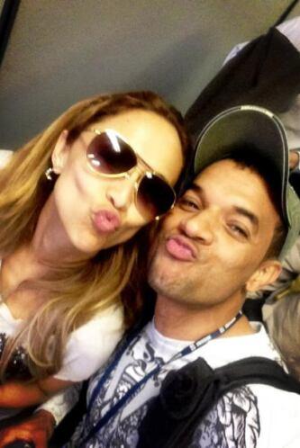 Verónica Bastos regresó a su querida Costa Rica, al lado del productor A...
