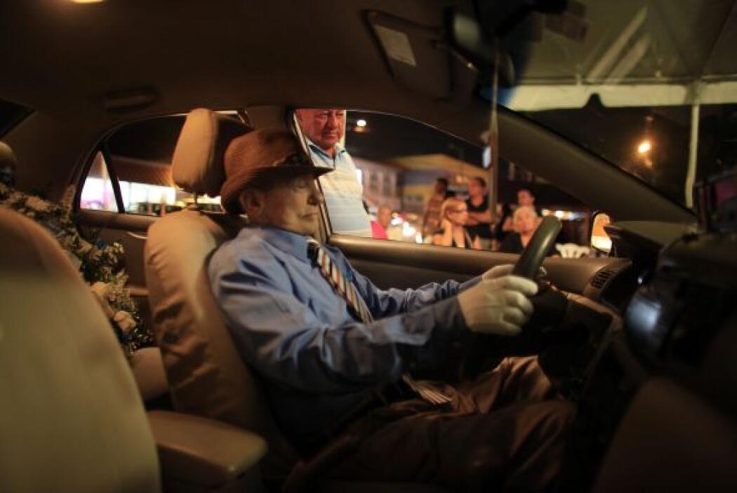 Víctor Pérez Cardona, conocido entre sus amigos como 'Vitín el taxista',...