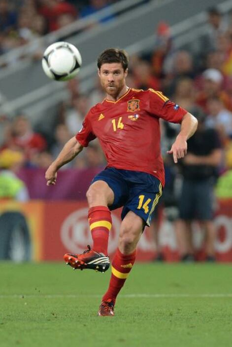Xabi Alonso:El mediocampista de España es uno de los motores del equipo,...