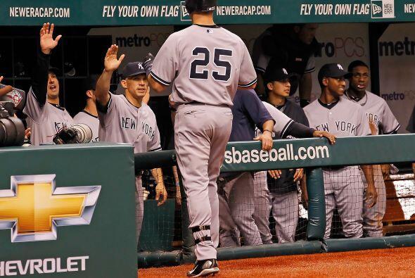 Yankees se puso arriba 1-0 sobre los Rays.