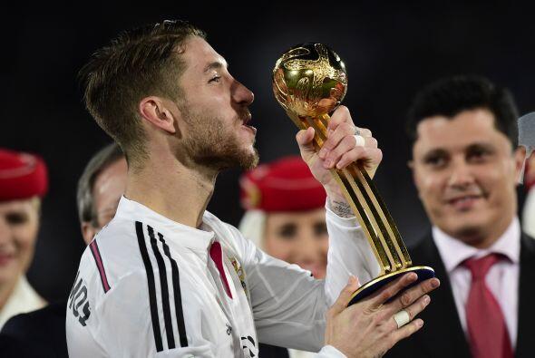 Sergio Ramos fue galardonado como el mejor del Mundial de Clubes.