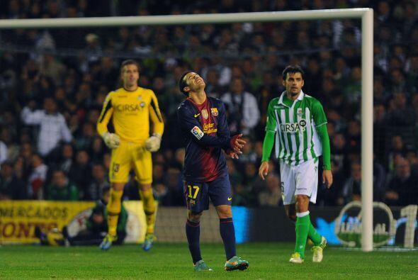Barcelona sufrió el resto del partido, no pudo ampliar la ventaja y el e...