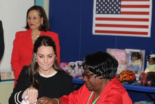 Kate Middleton solo ayudó un poco a San Nicolas.