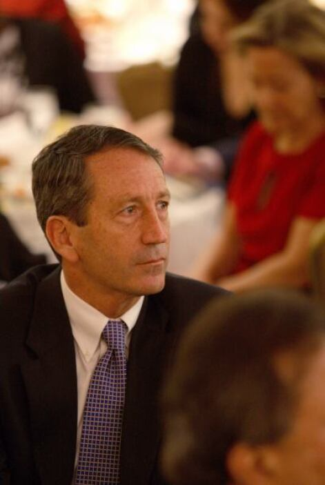 Mark Sanford: Gobernador de Carolina del  Sur,  desapareció durante cinc...