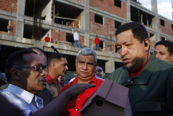 Hugo Chávez, presidente de Venezuela, ha sido criticado en los 12...