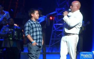 Gustavo Rivera asistió al concierto de Lupillo Rivera