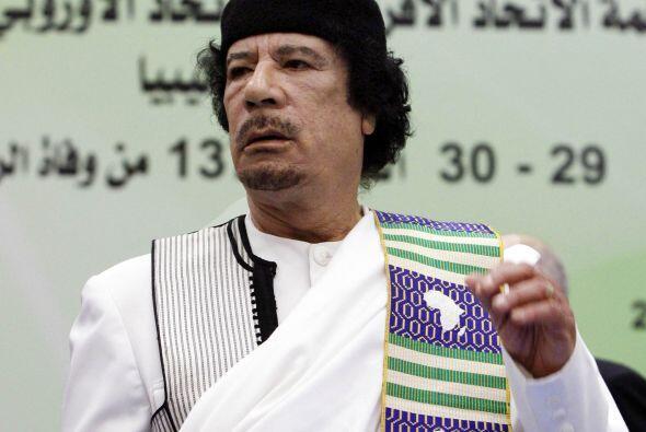 Libia. Cientos de disidentes en este país africano de seis millones de h...