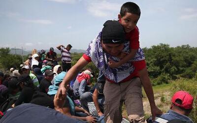 La odisea de los jóvenes inmigrantes en su paso por México