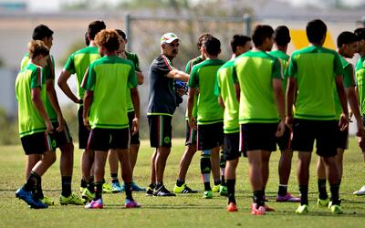 Práctica Selección Mexicana