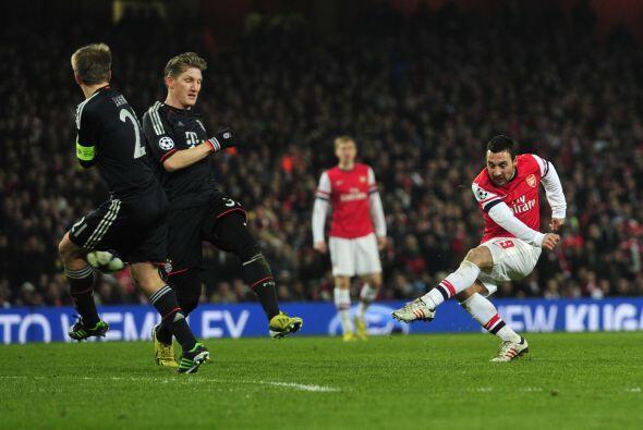 En la segunda parte, el Arsenal quiso reaccionar para dejar abierta la e...