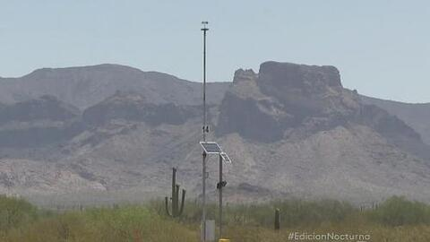 Las torres de vigilancia en la frontera tienen un segundo uso