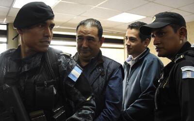 El hijo y el hermano del presidente guatemalteco Jimmy Morales, Jos&eacu...