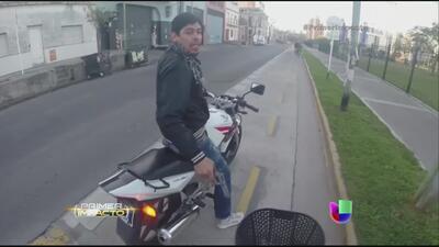 Captan en video el asalto a un turista en Argentina