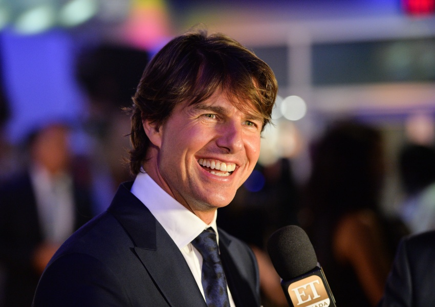 Tom Cruise en el estreno de 'Mission Impossible: Rogue Nation'.