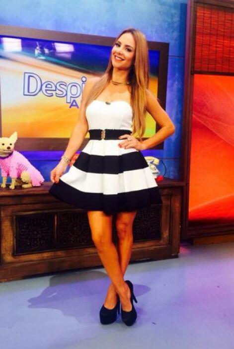 """""""La fotico de hoy desde @despiertaameric besos para todos"""", contó Ximena..."""
