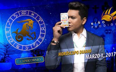 Niño Prodigio - Capricornio 1 de marzo, 2017