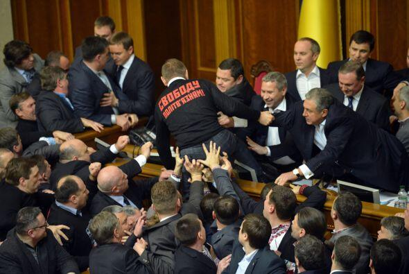 El presidente de Ucrania propuso el pasado domingo la candidatura del pr...