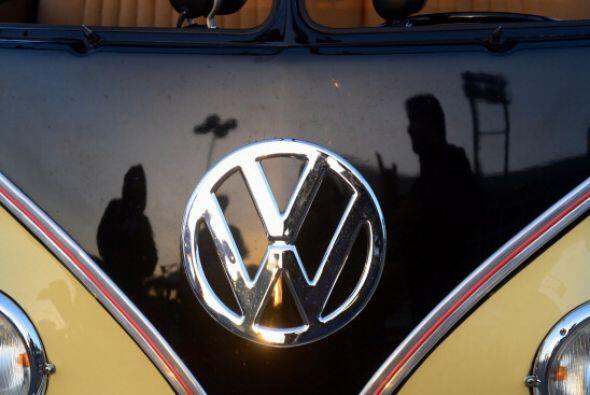 1. Volkswagen. Es la primera vez que una compañía europea...