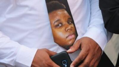 El joven afroamericano Michael Brown.