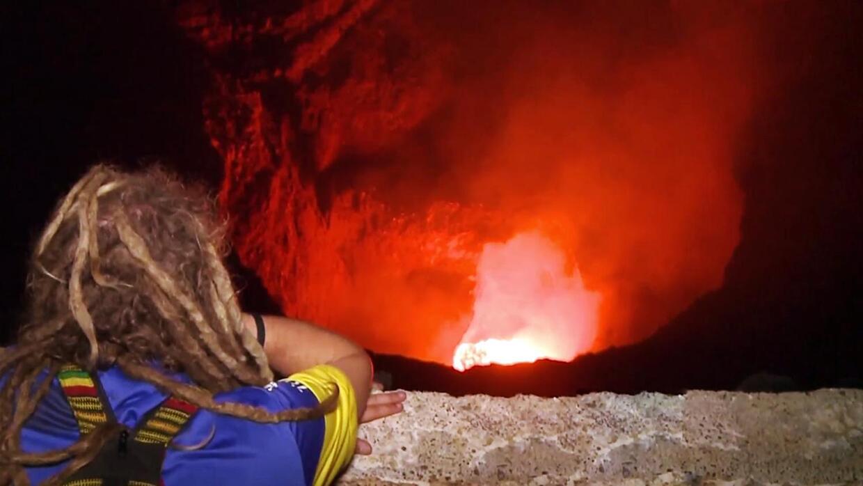 La nueva atracción turística de Nicaragua: El río de lava del volcán San...