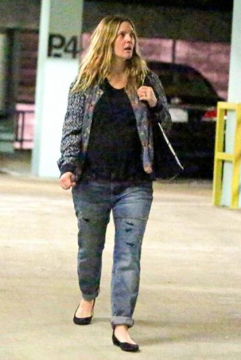 ¿Pero qué le pasó a Drew Barrymore? El hecho de estar embarazada no es p...