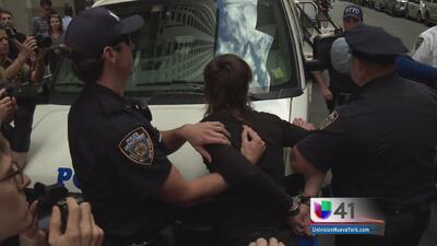 Activistas paralizaron Wall Street