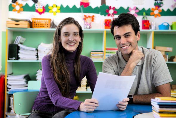 La escuela. Trata de conocer a la mayoría de los profesores y de present...