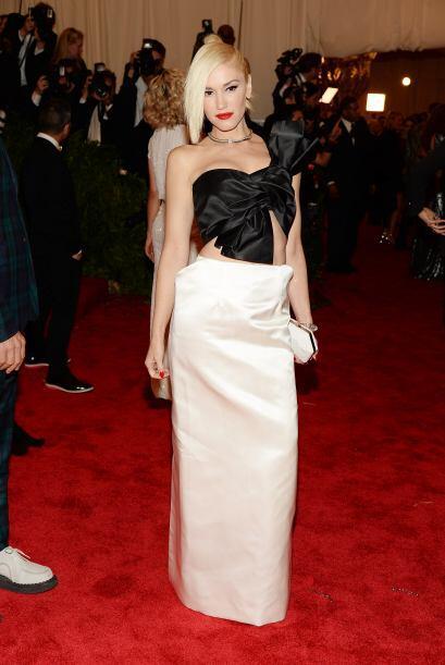 No fue nada raro ver vestida de esta manera a Gwen Stefani, es má...