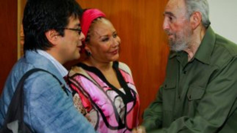 Fidel Castro y Piedad Córdoba se reunieron en La Habana para hablar sobr...