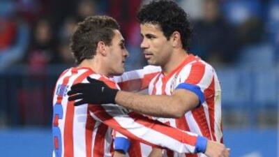 Koke y Doego Costa son compañeros en el Atlético y podrían también compa...