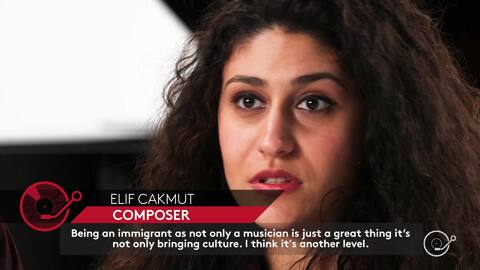 """Paul & Elif on being musicians and immigrants in the U.S. """"it's importan..."""