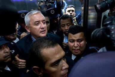 Día histórico en Guatemala tras renuncia de Otto Pérez Molina