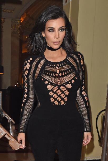 Sí, una vez más Kim Kardashian dejó muuuy poco a la imaginación con su l...