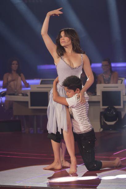 Bianca Marroquín es una gran artista porque recordemos que además de bai...