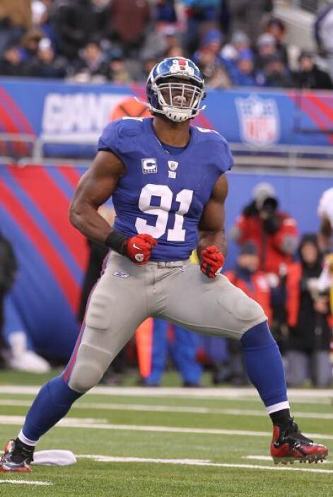 60. Justin Tuck (ala defensivo - New York Giants)