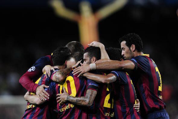 Es el Barça, más que un club, esquizofrénico por naturaleza. El de la bi...