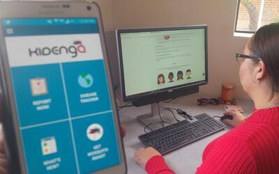 Kidenga es una nueva aplicación para ayudar a detectar el zika y preveni...