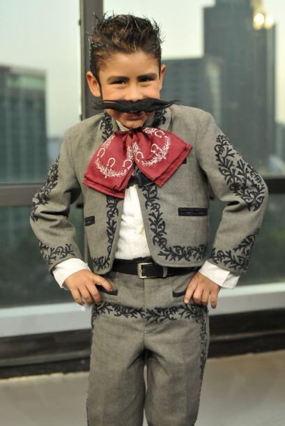 Ricardo Jaramillo es un pequeño con gran talento.