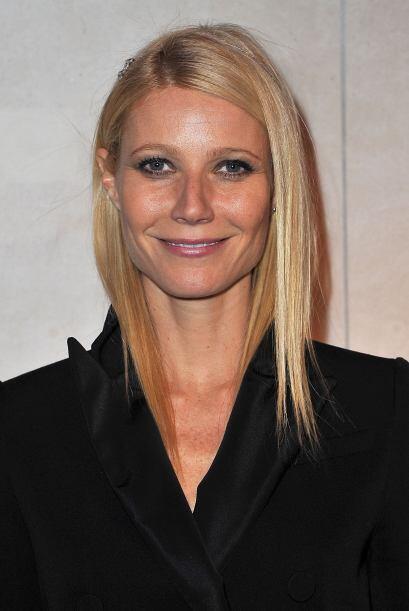 """Gwynet Paltrow: La guapa actriz de """"Iron Man"""" tampoco necesita hacerse n..."""