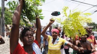 Haití sigue en constante recuperación tras el terremoto que destruyó sus...