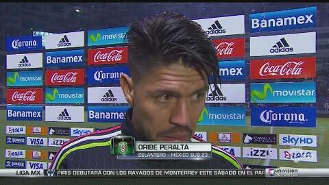 """Oribe Peralta: """"Estamos bien, vamos por el oro, otra vez"""""""