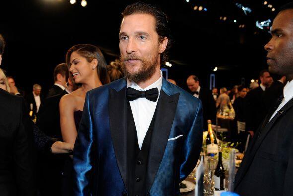 Por ahí corren rumores de que Matthew McConaughey en lugar de anunciar a...