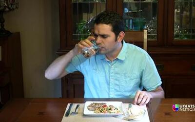 Cambia tu número: Toma agua antes de comer