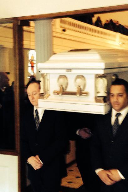 Muchos de los asistentes a la misa no conocieron personalmente a Oquendo.