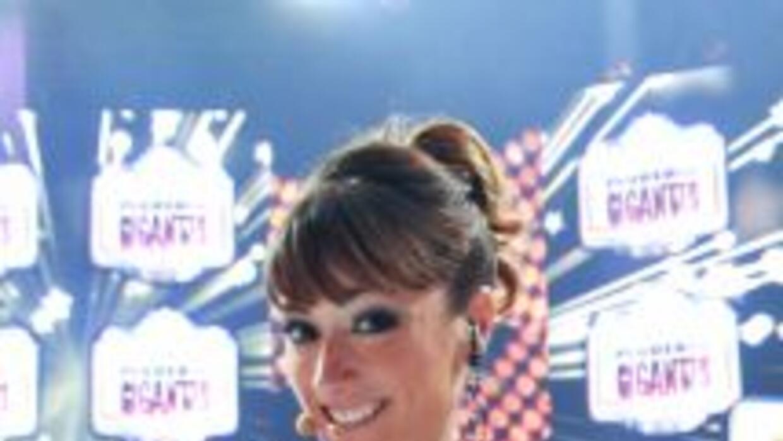 Raquel Ortega forma parte del jurado de Pequeños Gigantes.
