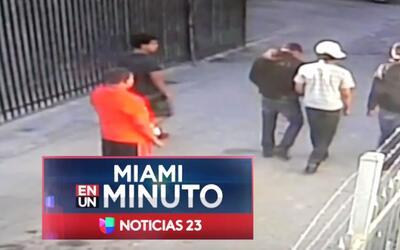 'Miami en un Minuto': policía pide ayuda para encontrar a sujeto que le...