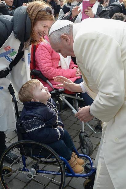 Fotografía facilitada por el diario vaticano L'Osservatore Romano...